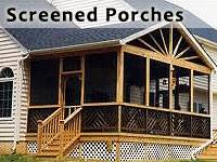 Screen Porch Canandaigua